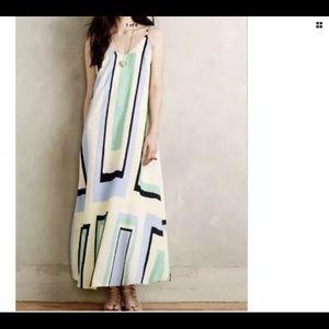 Maeve Striped Maxi Dress XL
